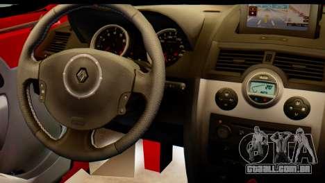 Renault Kangoo para GTA San Andreas vista direita