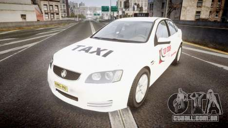 Holden Commodore Omega Queensland Taxi v3.0 para GTA 4