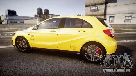 Mersedes-Benz A45 AMG PJs2 para GTA 4 esquerda vista