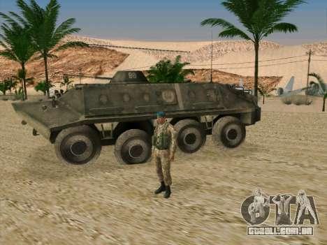 Granadeiro VDV para GTA San Andreas terceira tela