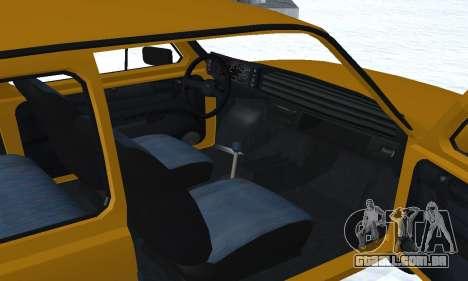 Fiat 126p FL para GTA San Andreas vista inferior