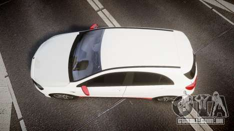 Mersedes-Benz A45 AMG PJs3 para GTA 4 vista direita