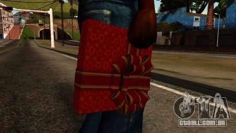 New Year Remote Explosives para GTA San Andreas terceira tela