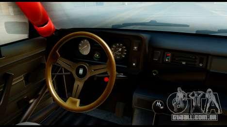 VAZ 2105 Esportes para GTA San Andreas vista traseira