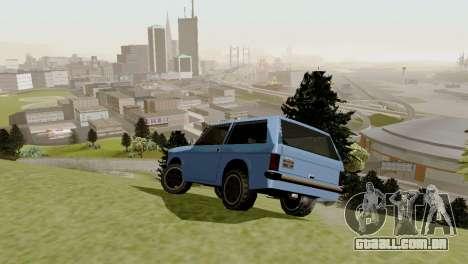 Transporte novo e compra para GTA San Andreas sétima tela