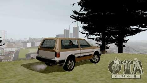 Transporte novo e compra para GTA San Andreas nono tela