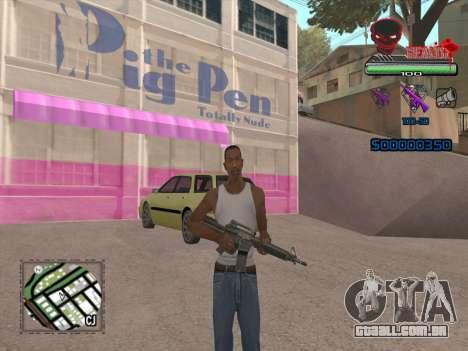 C-HUD by VinC para GTA San Andreas segunda tela