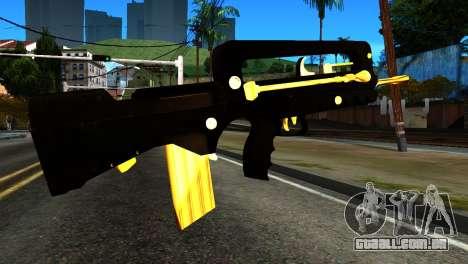 New Machine para GTA San Andreas segunda tela