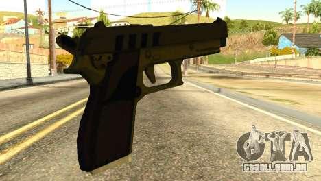 Pistol from GTA 5 para GTA San Andreas segunda tela