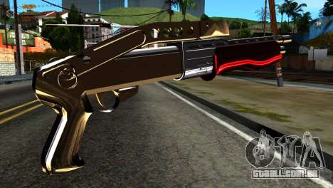 New Combat Shotgun para GTA San Andreas segunda tela