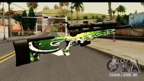 Grafiti Sniper Rifle para GTA San Andreas segunda tela