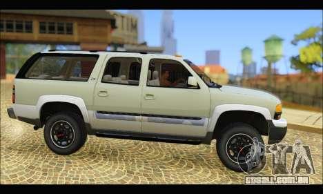 GMC Yukon XL 2003 v.2 para GTA San Andreas esquerda vista