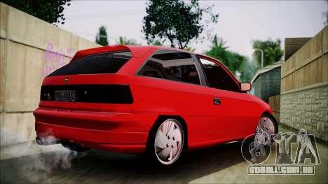 Opel Astra GSI BG para GTA San Andreas esquerda vista