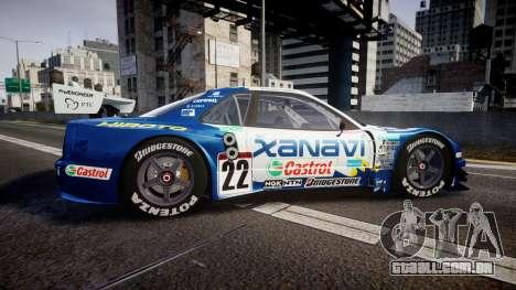 Nissan Skyline R34 2003 JGTC Xanavi Hiroto para GTA 4