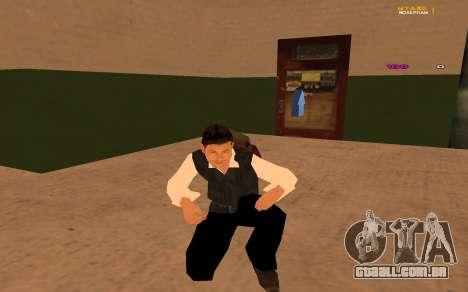 Nova animação por Ozlonshok para GTA San Andreas segunda tela
