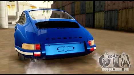 Porsche 911 Carrera 2.7RS Coupe 1973 Tunable para o motor de GTA San Andreas