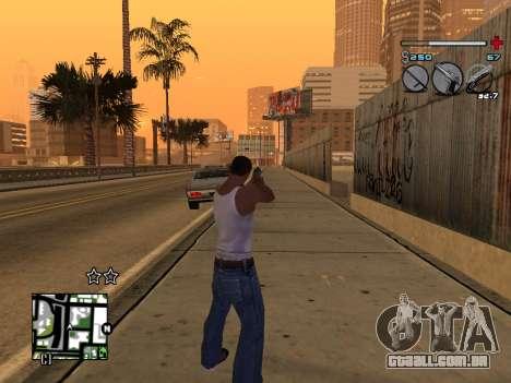 C-HUD Universal v3 para GTA San Andreas