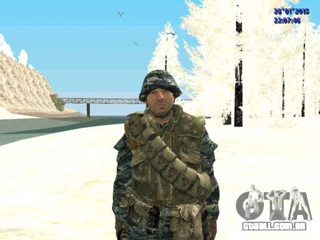As forças especiais da Federação russa (CoD Blac para GTA San Andreas