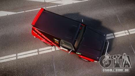 Declasse Rancher Sandking style para GTA 4 vista direita