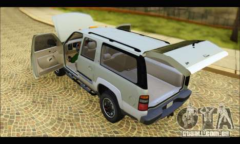 GMC Yukon XL 2003 v.2 para GTA San Andreas vista direita