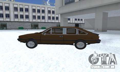 FSO Polonez 2.0X Coupe para GTA San Andreas esquerda vista