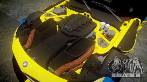 BMW Z4 GT3 2012 Northwest para GTA 4 vista interior