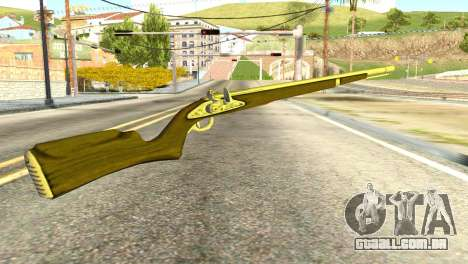 Rifle from GTA 5 para GTA San Andreas segunda tela
