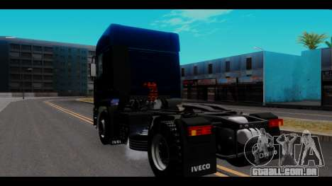 Iveco Eurotech para GTA San Andreas traseira esquerda vista