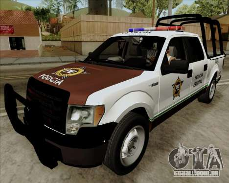 Ford F-150 para GTA San Andreas vista direita