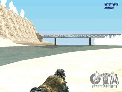 As forças especiais da Federação russa (CoD Blac para GTA San Andreas por diante tela