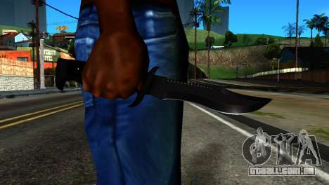 New Knife para GTA San Andreas terceira tela