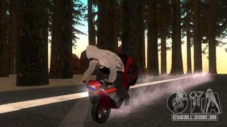Faggio Stunt para GTA San Andreas vista direita