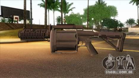 Rocket Launcher from GTA 5 para GTA San Andreas terceira tela