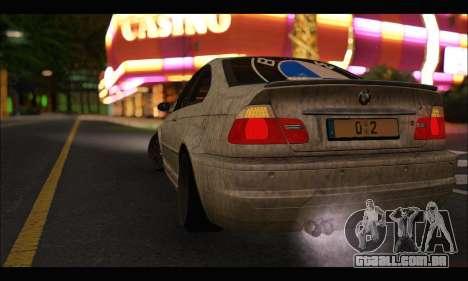 BMW M3 E46 para GTA San Andreas vista direita