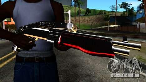 New Combat Shotgun para GTA San Andreas terceira tela