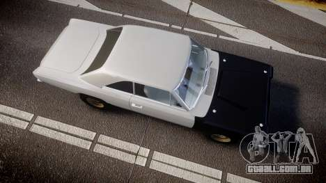Dodge Dart HEMI Super Stock 1968 rims1 para GTA 4 vista direita