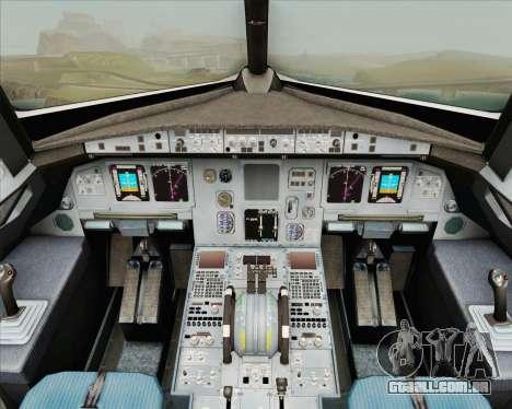 Airbus A320-200 Air New Zealand para GTA San Andreas interior