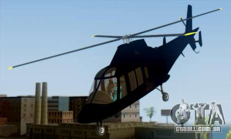 Swift GTA 5 para GTA San Andreas esquerda vista