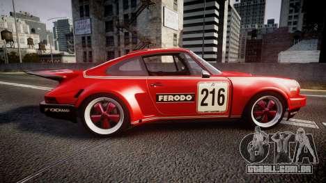 Porsche 911 Carrera RSR 3.0 1974 PJ216 para GTA 4 esquerda vista