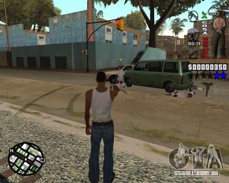 C-HUD La Cosa Nostra para GTA San Andreas segunda tela