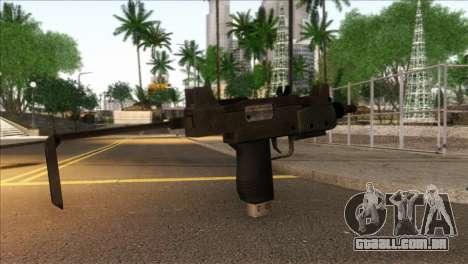 Micro SMG from GTA 5 para GTA San Andreas segunda tela