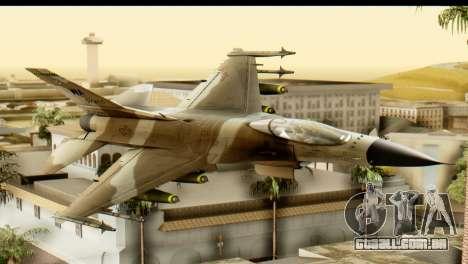 F-16 Fighter-Bomber Desert Camo para GTA San Andreas