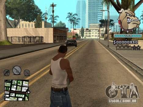 C-HUD Universal para GTA San Andreas quinto tela