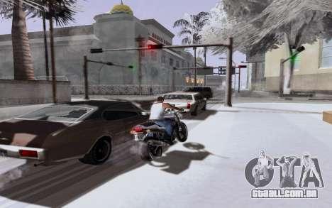 Nuevo ENB Series para GTA San Andreas quinto tela