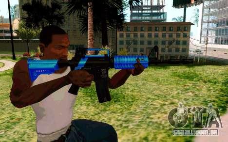 M4 Blue para GTA San Andreas