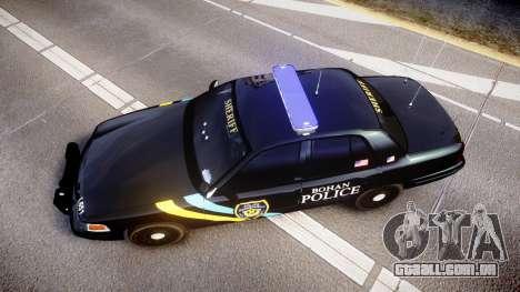 Ford Crown Victoria Sheriff Bohan [ELS] para GTA 4 vista direita