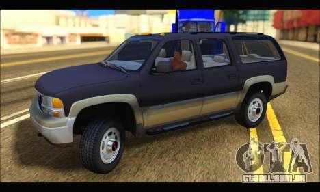 GMC Yukon XL 2003 para GTA San Andreas esquerda vista