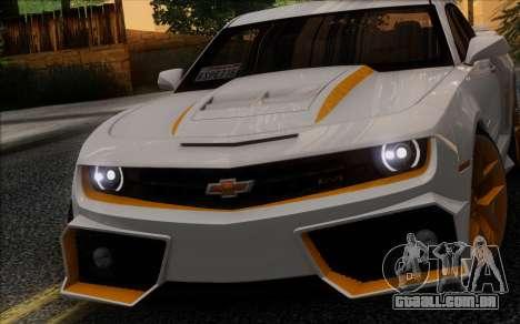 Chevrolet Camaro VR (IVF) para GTA San Andreas esquerda vista