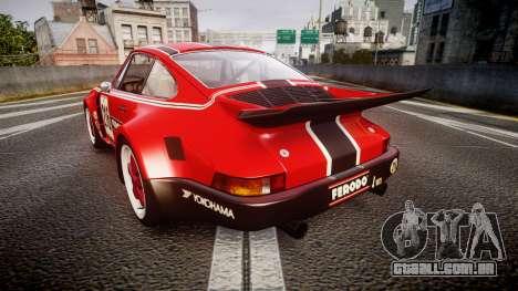 Porsche 911 Carrera RSR 3.0 1974 PJ216 para GTA 4 traseira esquerda vista