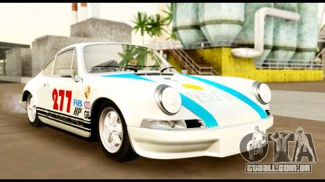 Porsche 911 Carrera 2.7RS Coupe 1973 Tunable para GTA San Andreas vista superior